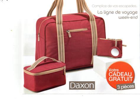 cadeau blanche porte daxon cadeau le lot de bagages framboise fpp 40
