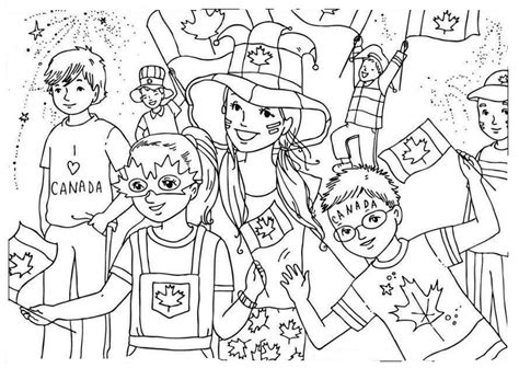 coloring pages i love canada children s day coloring pages coloring home