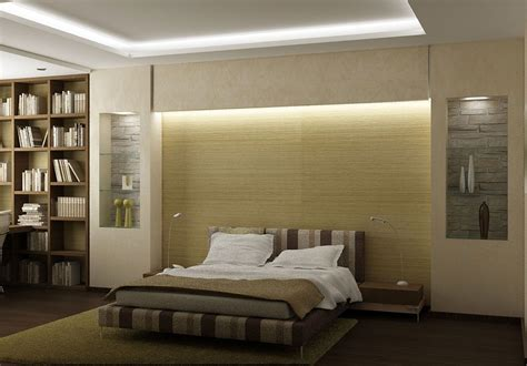 bedroom design  cove lights covelighting cabinet