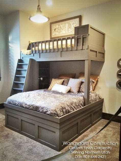 Bunk Bed With Guest Bed Finish Carpentry Ideas Courtesy Of My Husband 3 Design Small Spaces And It Is
