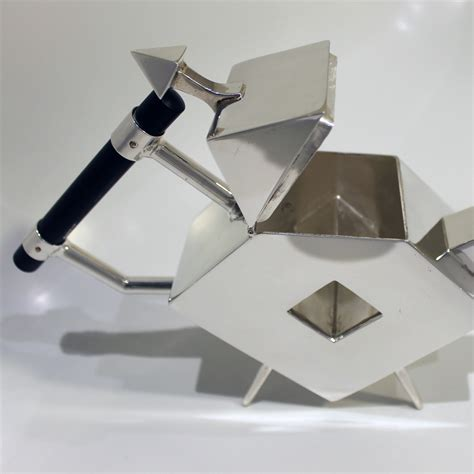 Christopher Dresser Silver by Christopher Dresser Design Silver Plated Teapot