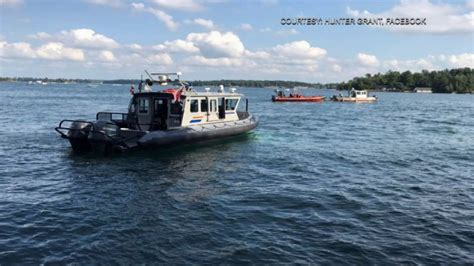 boat crash rockport ontario body of 11 year old boy who drowned in the st lawrence