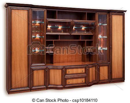 Small Modular Kitchen Designs clipart de de madera alacena vidrio puertas aislado