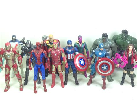 Marvel All Figure marvel age of ultron all figures unboxing