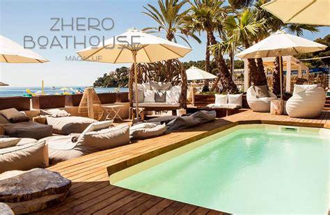 pool boat house zhero hotel palma perfekt designtes boutique hotel