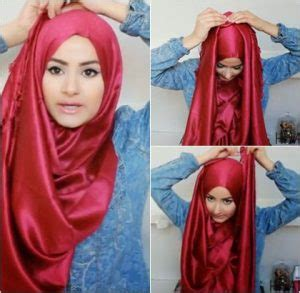 tutorial hijab pesta satin 10 cara memakai hijab pashmina satin simple dan glamour