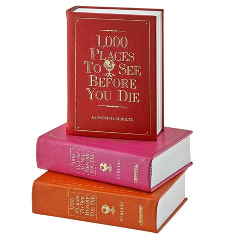 Novel I M You Die For Me 1000 places to see before you die leather bound edition by blue sky papers