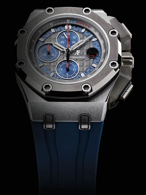 Ap Schumacher Blue Rubber Swiss Eta 1 1 new audemars piguet royal oak offshore michael schumacher platinum