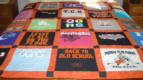 T Shirts Made Into Quilts by Memory Quilts T Shirts Made Into A Quilt That By