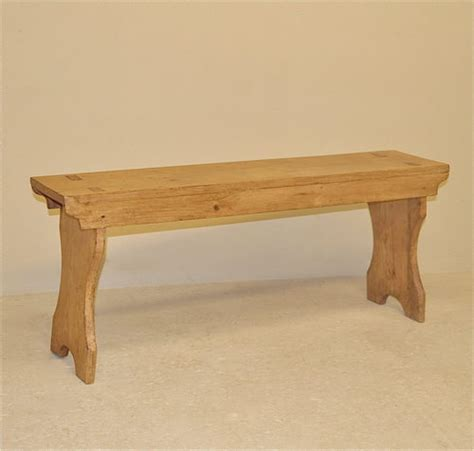 small antique bench small pine bench antiques atlas