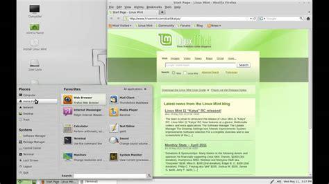 download mint z mod linux 0 2 linux mint 11 review linux distro reviews youtube