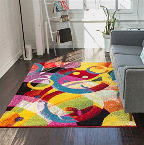 bright colored area rugs funky rainbow colored area rugs 6 vibrant rugs you