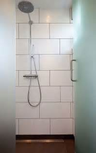 Large Subway Tile 24 Large White Bathroom Tiles Ideas And Pictures