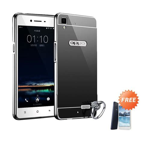 Tempered Glass Oppo Mirror 5 Jete jual jagostu bumper mirror casing for oppo a51 or oppo
