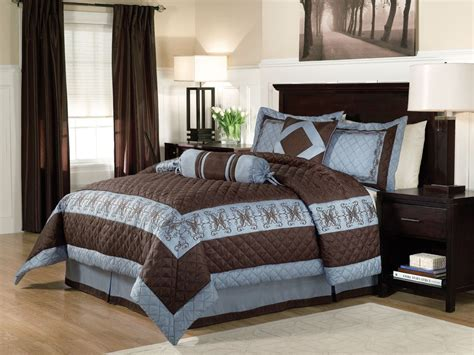 blue and brown rooms blue and brown bedrooms home design
