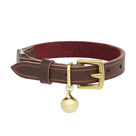 Cat Leather by Luxury Cornelious Leather Cat Collar Chelsea Cats