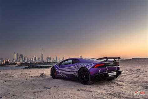 lamborghini purple photoshoot matte purple lamborghini hurac 225 n from dubai