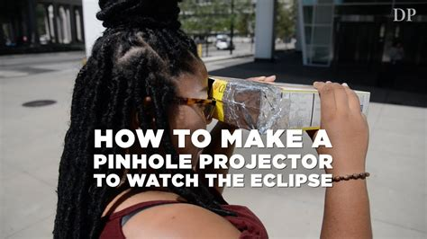 How To Make Pinhole With Paper - how to make a pinhole projector to the eclipse