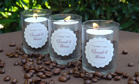 Coffee Bean Candle Wedding Favors   Wedding Inspiration