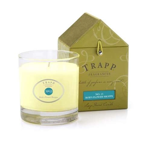 Trapp Candles Trapp Candles No 13 Bob S Flower Shoppe 7 Oz Poured Candle
