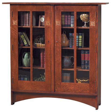 Harvey Ellis Bookcase stickley harvey ellis bookcase w inlay 89 91 706