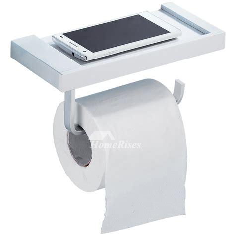cheap modern aluminum wall mounted toilet paper holder