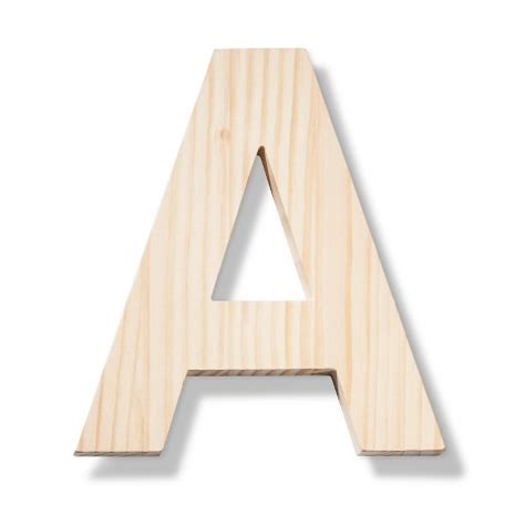 made by hand contemporary hand made modern wooden letters target