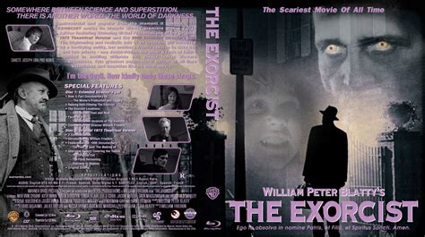 download film the exorcist blu ray the exorcist movie blu ray custom covers