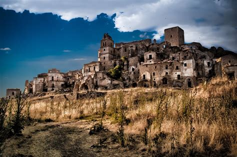 Beautiful Abandoned Places ghost towns craco italy youtube