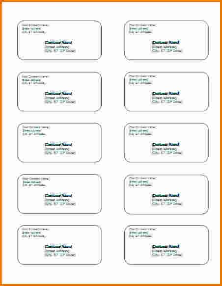 Microsoft Office Label Templates 4 Microsoft Office Label Templates Divorce Document