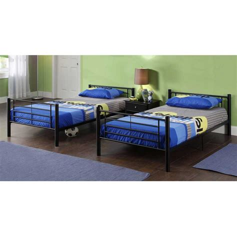 twin bed with mattress modern steel framing twin bunk beds consumer reviews home best furniture