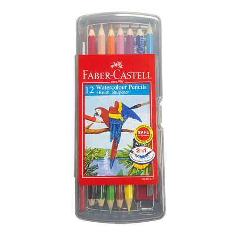 Watercolour Pencils Faber Castell 12 faber castell watercolour pencil 12s