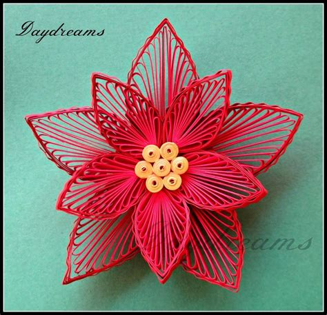Paper Poinsettias Made From Recycled Cards Template by Quilling Patterns For Cards Quilling Patterns Wallpapers