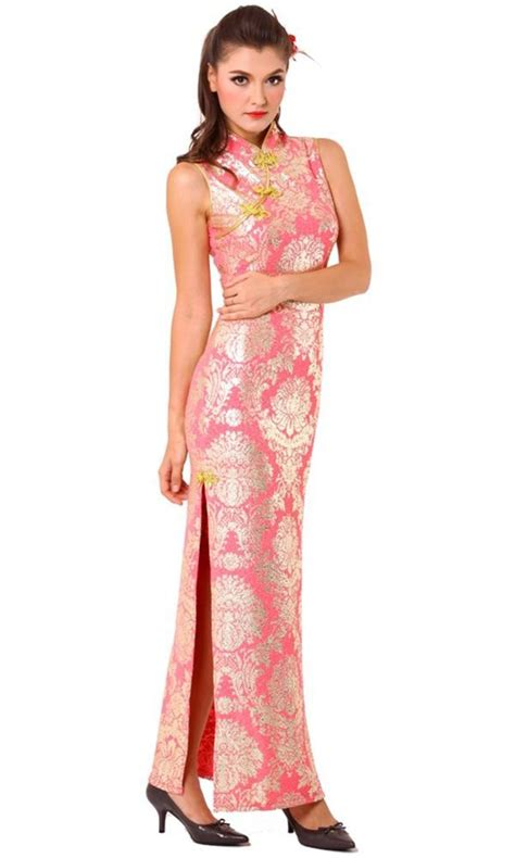 Dress Cheongsam Pink stunning pink cheongsam cheongsams qipaos afashion