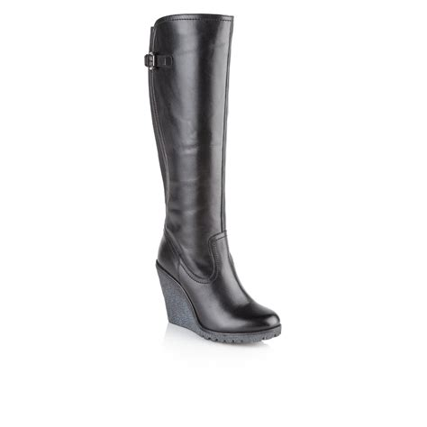 The Knee Wedge Boots buy ravel delta knee high wedge boots in