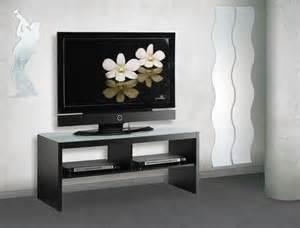 meuble tv noir en verre conforama photo 9 10 meuble tv