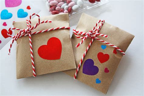 valentines bags diy mini treat bag idea