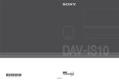 Home Theater Sony Malaysia sony home theater system dav is10 user guide