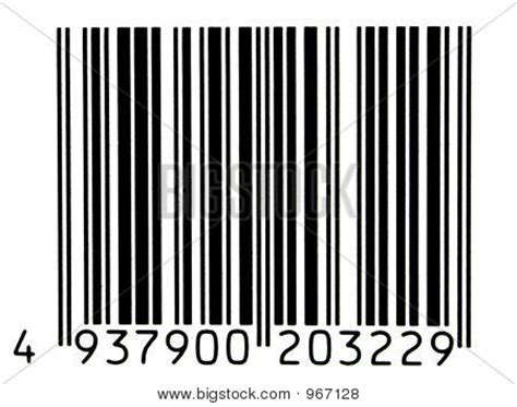 picture or photo of bar code is fake numbers have been changed