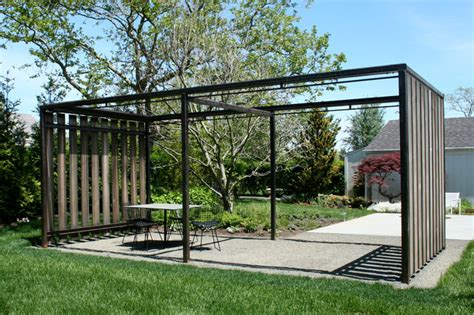 Structures In Landscape Architecture Garden Structures Modern Landscape New York By