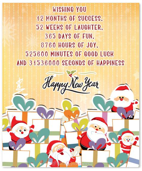 greeting card sayings for new year new year messages quotes and greetings