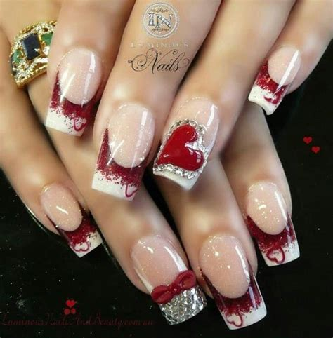 nail design ideas for valentines day amazing nail day special snaps