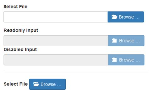 bootstrap templates for file upload bootstrap file input jquery скрипт стилизации input file