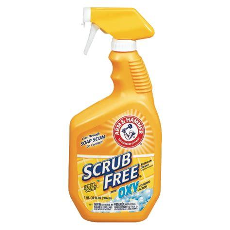 scrub free bathroom cleaner msds fleming chemical co
