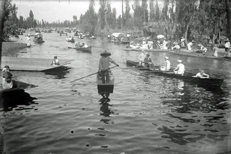 imagenes de xochimilco en blanco y negro cdmx en el tiempo un recorrido por el canal de la viga