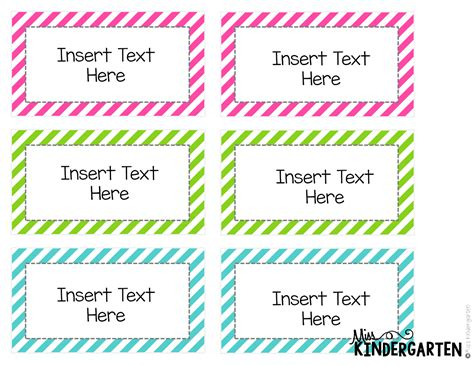 Word Card Editable Template by Editable Word Wall Templates Miss Kindergarten