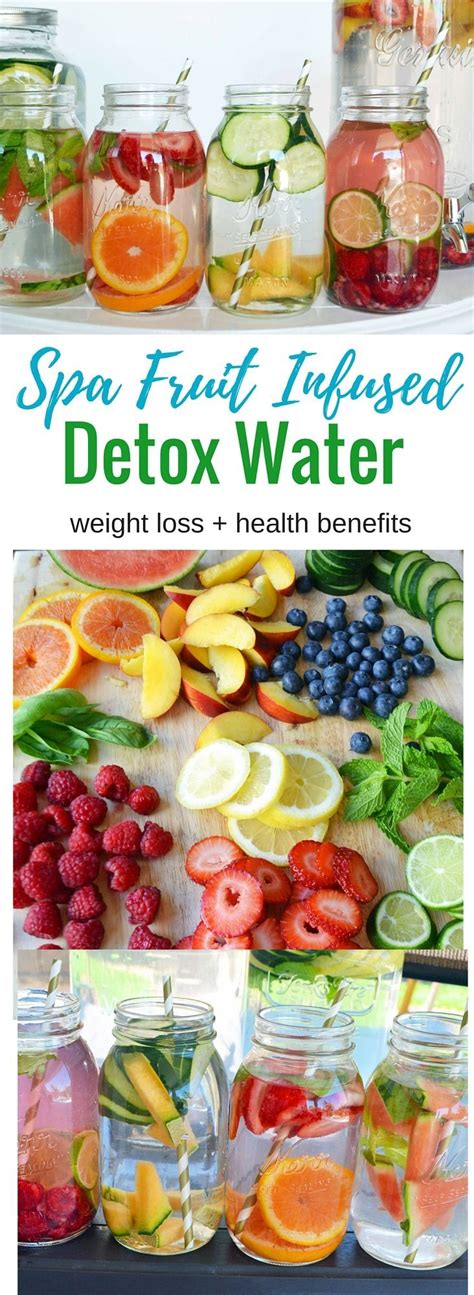 Detox Water With Fruit Benefits by Spa Fruit Infused Detox Water Aids In Weight Loss And Has