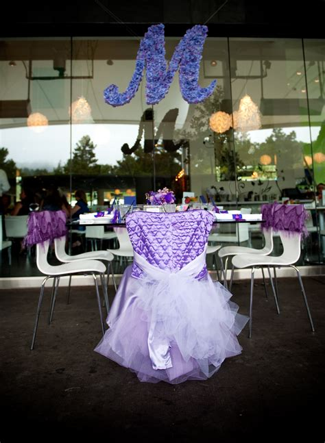Purple Bridal Shower Decorations by The Guest Of Honor Gets Own Stylish Throne
