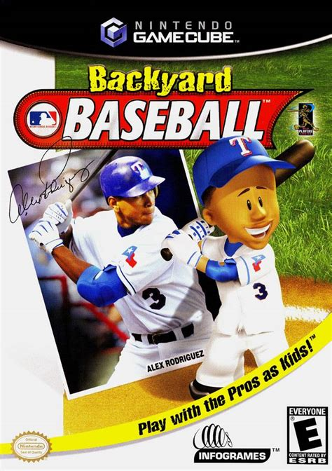 backyard baseball video game backyard baseball box shot for gamecube gamefaqs