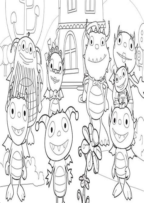imagenes para colorear henry monstruito mejores 8 im 225 genes de dibujos henry monstruito para